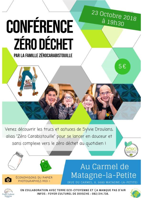 Zéro carabistouille 23-10 affiche