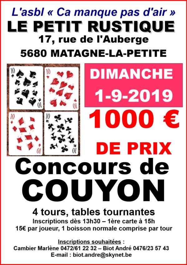Concours de Couyon 2019