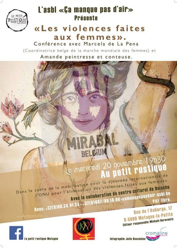 conférence violences femmes